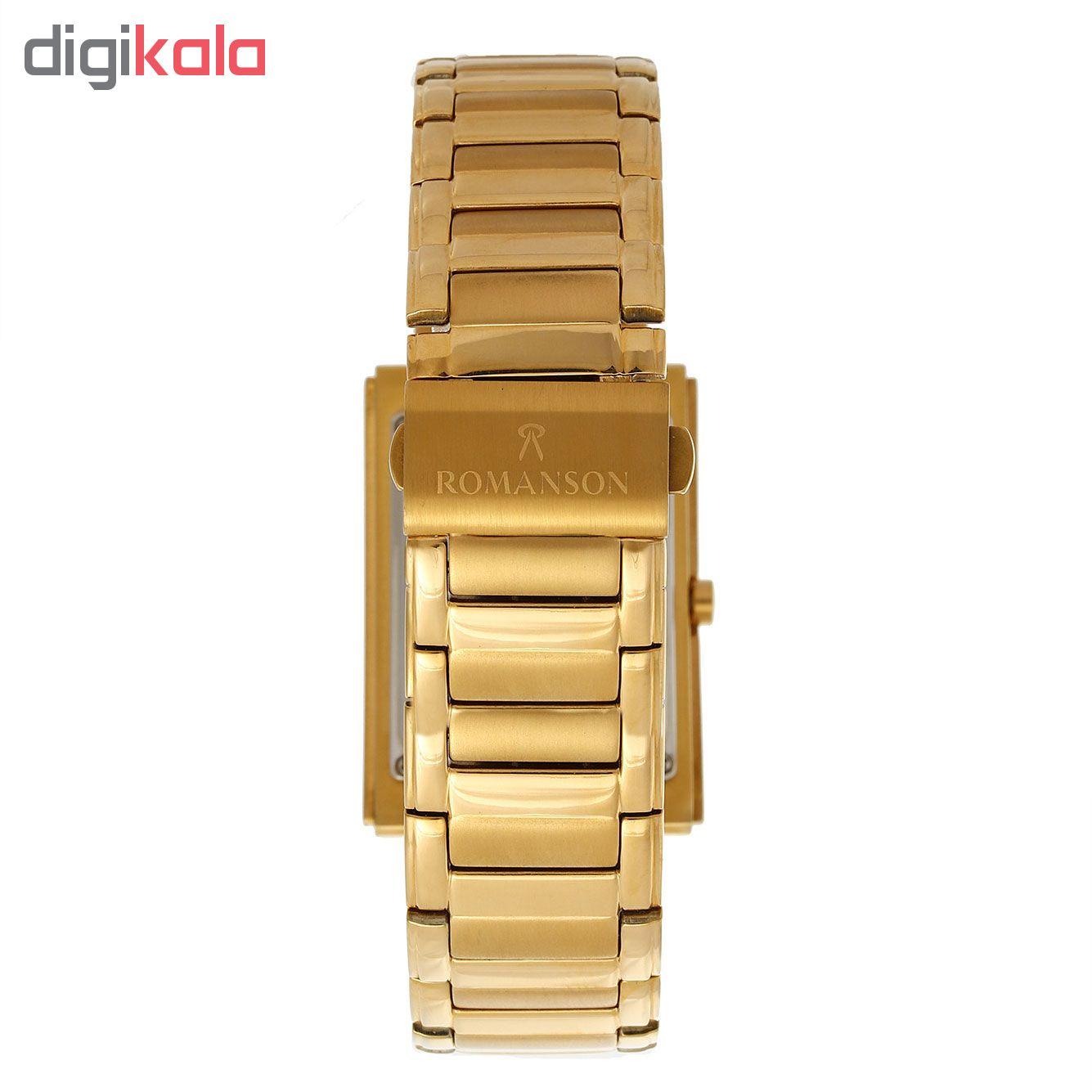 کد تخفیف                                      ساعت مچی عقربه ای مردانه رومانسون مدل DM3110MM1GA81G