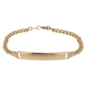 دستبند طلا 18 عیار گوی گالری مدل G108 | Gooy Gallery G108 Gold Bracelet