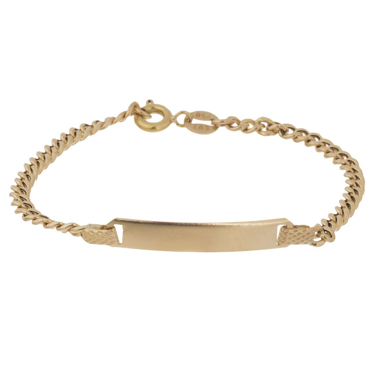 دستبند طلا 18 عیار گوی گالری مدل G106
