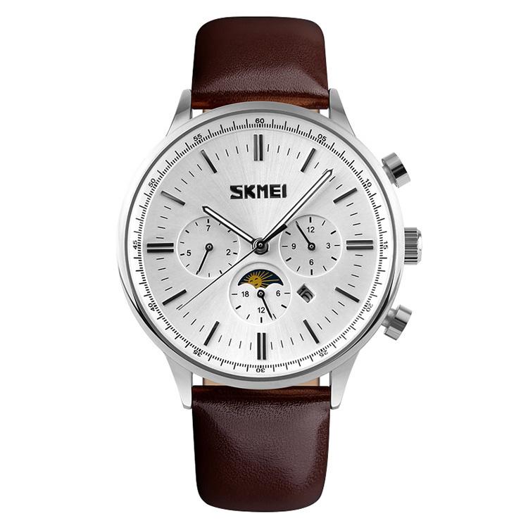 ساعت مچی عقربه ای مردانه اسکمی مدل S9117/WhiteSilver