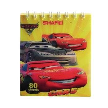 دفتر یادداشت 80 برگ شفیعی طرح ماشین ها کد 664