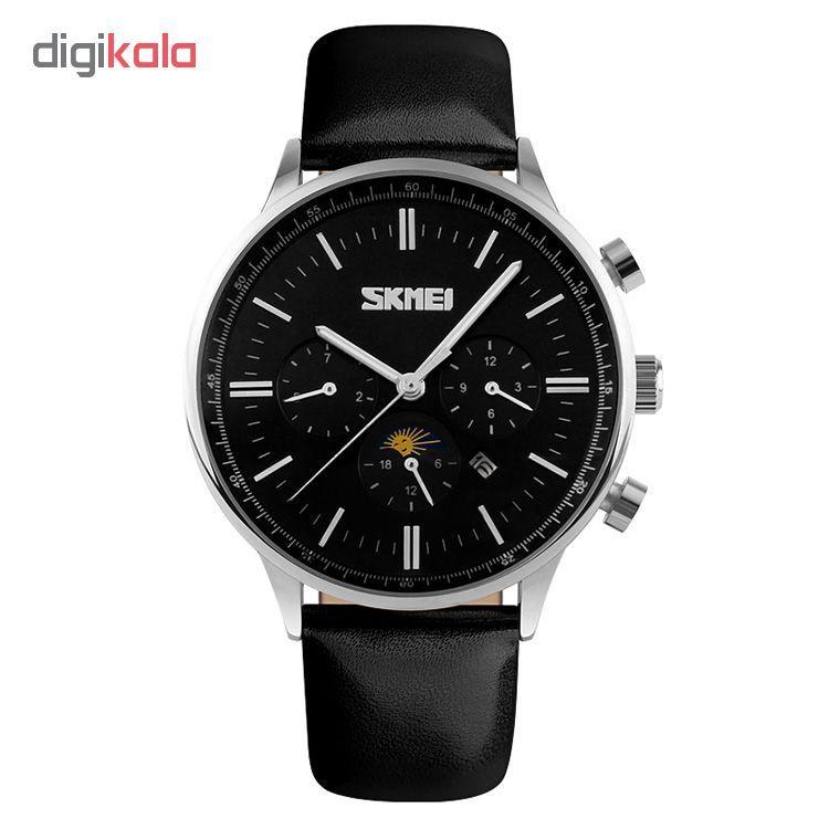 ساعت مچی عقربه ای مردانه اسکمی مدل S9117/BlackSilver  Skmei S9117/BlackSilver Watch For Men