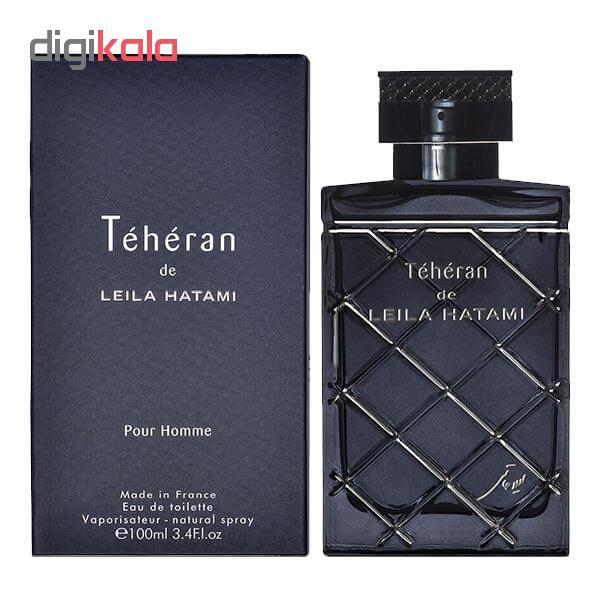 ادوتویلت مردانه لیلا حاتمی مدل Teheran Men حجم 100 میلی لیتر