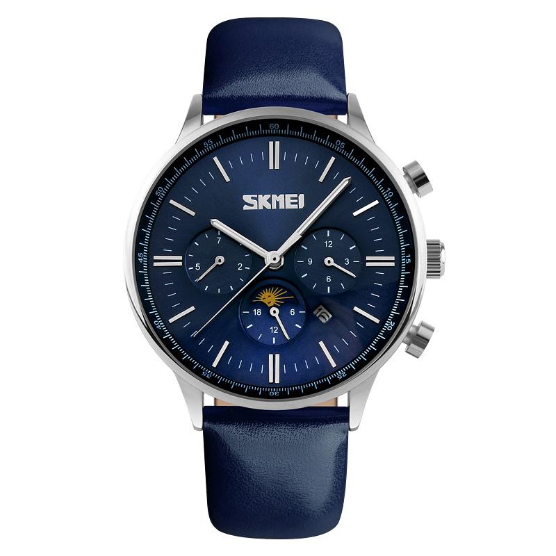 ساعت مچی عقربه ای مردانه اسکمی مدل S9117/Blue