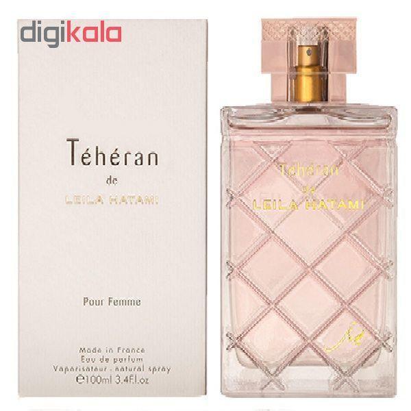 ادوپرفیوم زنانه لیلا حاتمی مدل Teheran Women حجم 100 میلی لیتر main 1 1