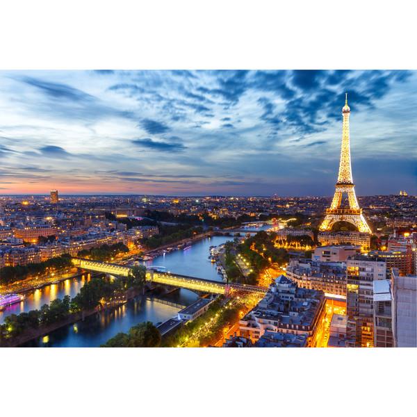 تابلو شاسی زیباترین عکس های جهان طرح برج ایفل کد 222