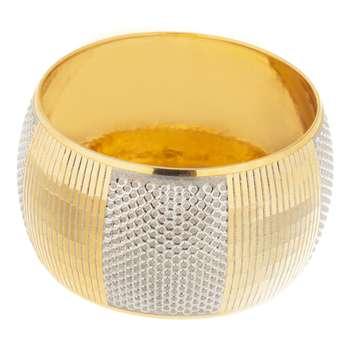 النگو طلا 18 عیار گوی گالری مدل G102 |