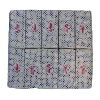 دستمال کاغذی 200 برگ ستاره مدل تک بسته 10 عددی
