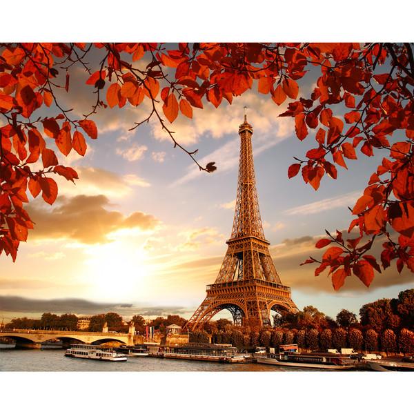 تابلو شاسی زیباترین عکس های جهان طرح برج ایفل کد 229