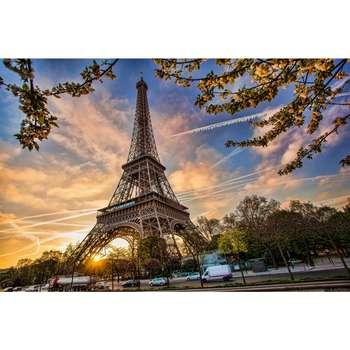 تابلو شاسی زیباترین عکس های جهان طرح برج ایفل کد 230