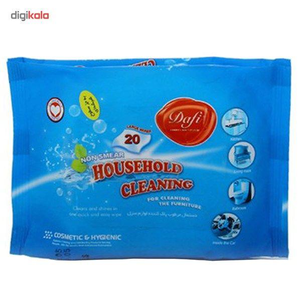 دستمال مرطوب دافی مدل Household Cleaning