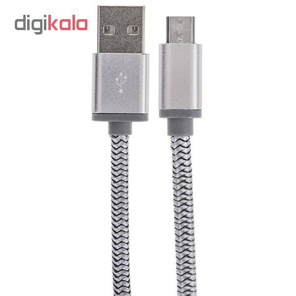 کابل تبدیل USB به microUSB مدل S17 طول 1 متر