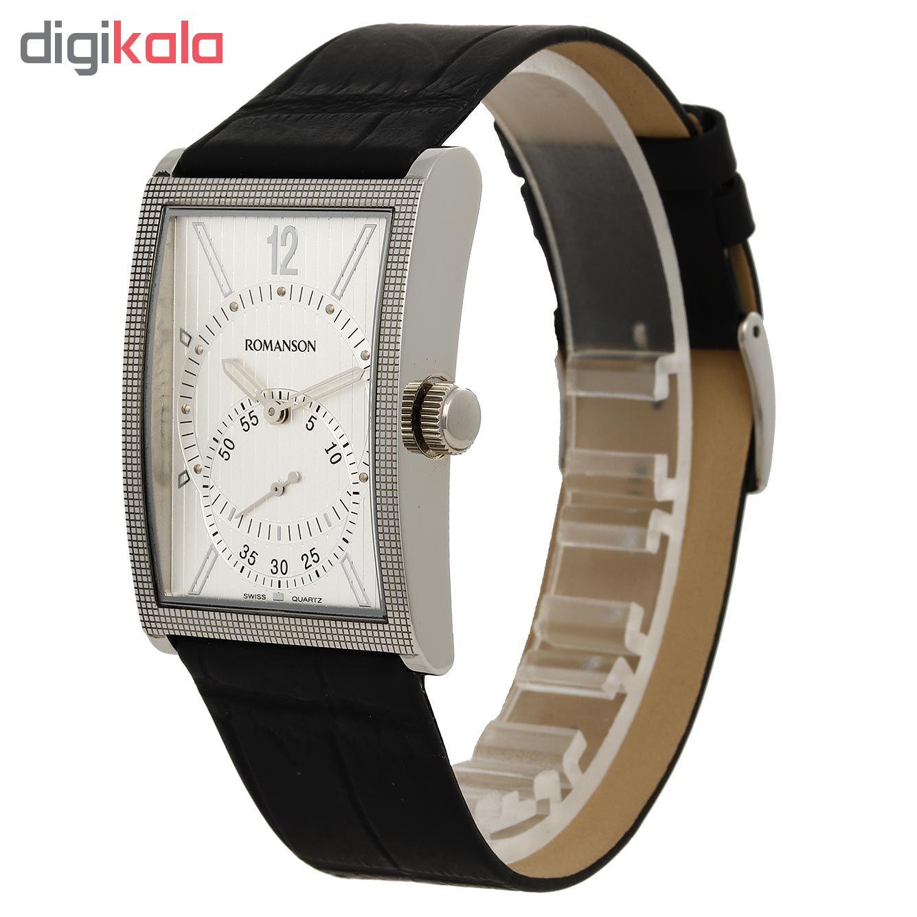 ساعت مچی عقربه ای مردانه رومانسون مدل DL5146MM1WAS2W