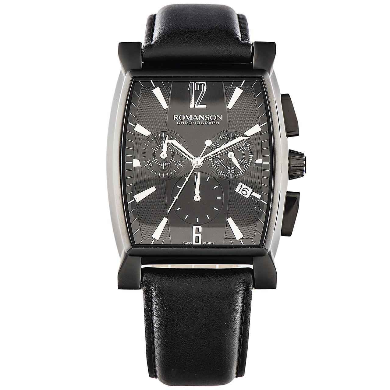 ساعت مچی عقربه ای مردانه رومانسون مدل TL1249HM1BB32W 17