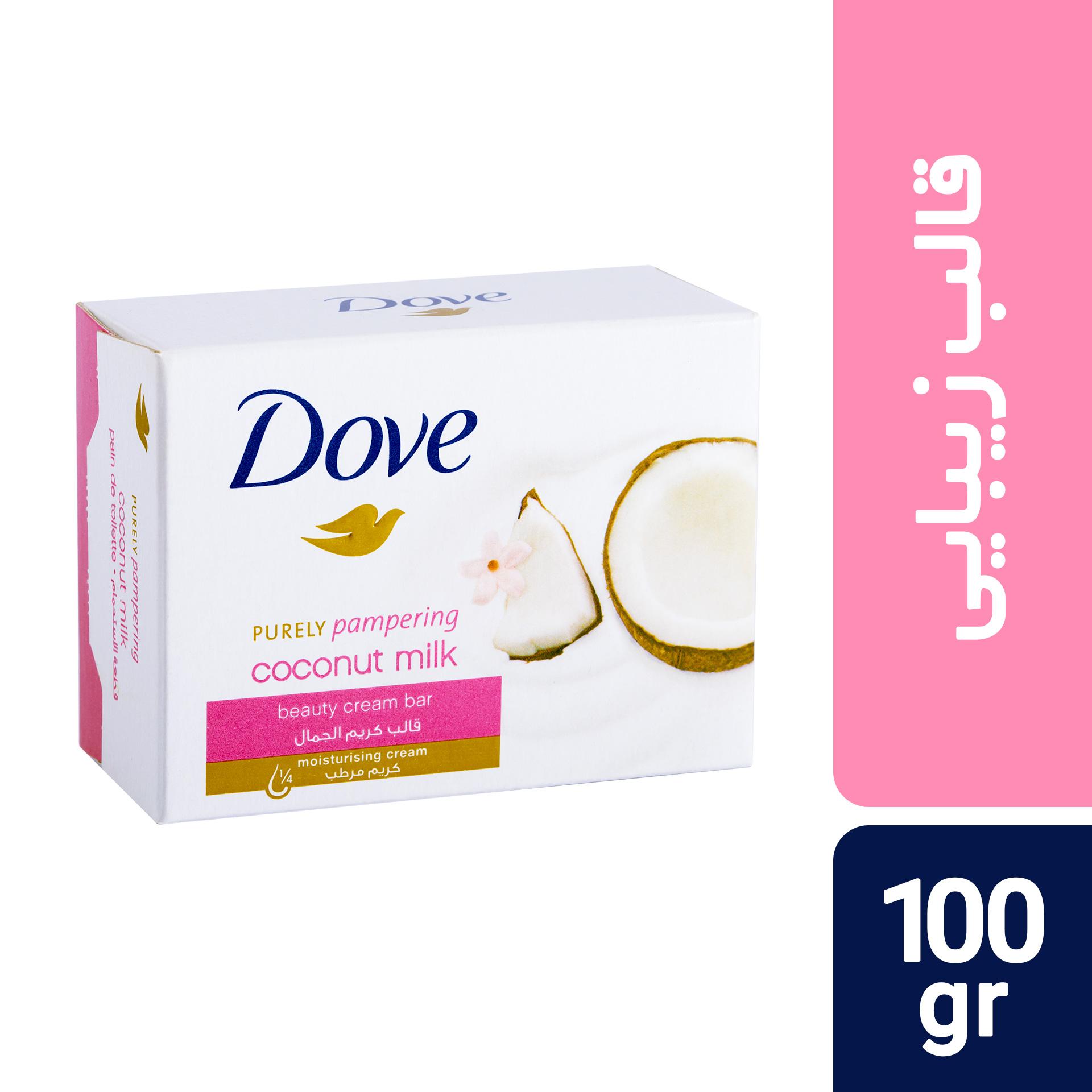 قیمت صابون داو مدل Coconut Milk مقدار 100 گرم