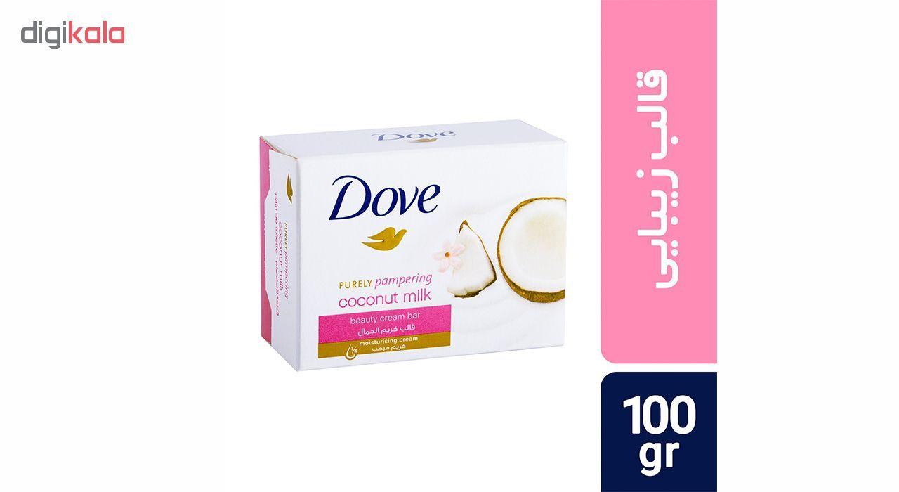 صابون داو مدل Coconut Milk مقدار 100 گرم main 1 1