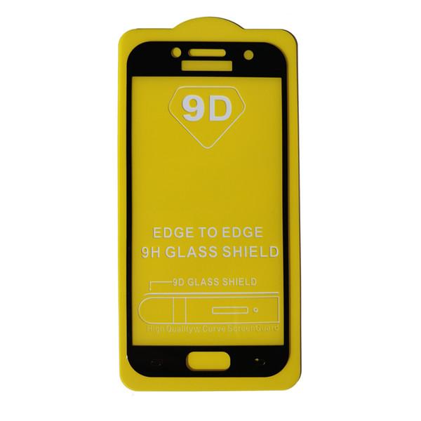 محافظ صفحه نمایش مدل 9D مناسب برای گوشی موبایل سامسونگ A3 2017