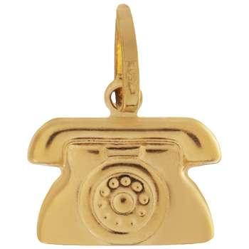 آویز گردنبند طلا 18 عیار گوی گالری مدل G102