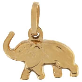 آویز گردنبند طلا 18 عیار گوی گالری مدل G96