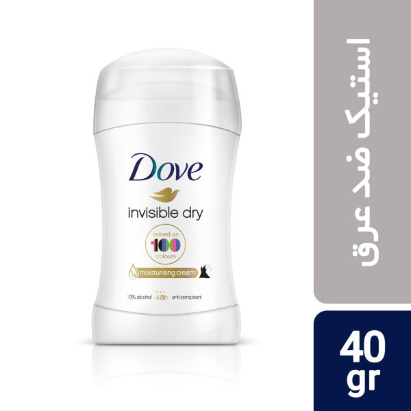 استیک ضد تعریق داو مدل Invisible Dry مقدار 40 گرم