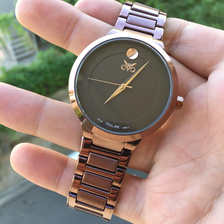 ساعت مچی عقربه ای مردانه اوبلاک مدل 72694              ارزان