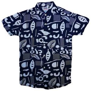 پیراهن پسرانه مدل هاوایی کد 00331030