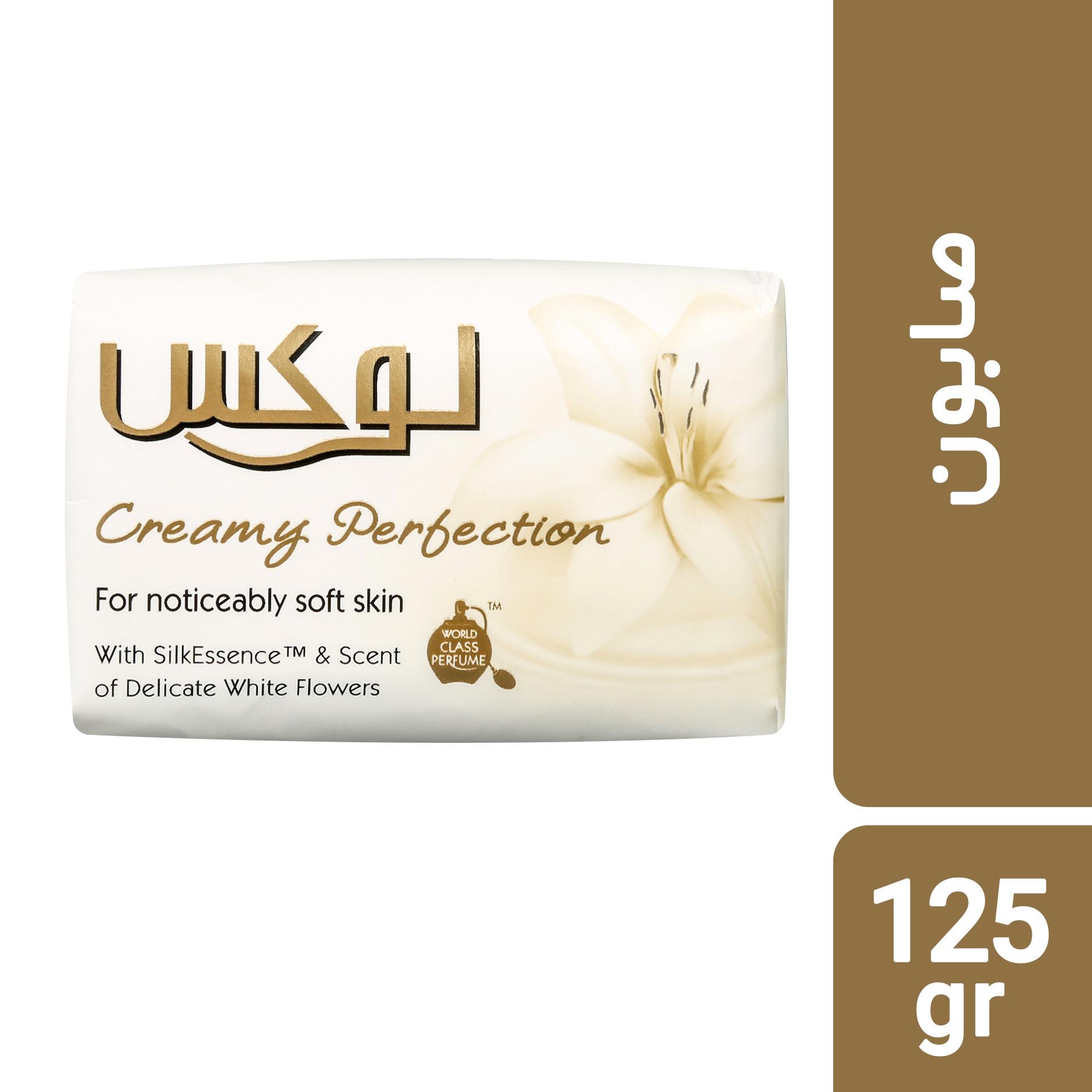 صابون لوکس مدل Creamy Perfection مقدار 125 گرم بسته 6 عددی