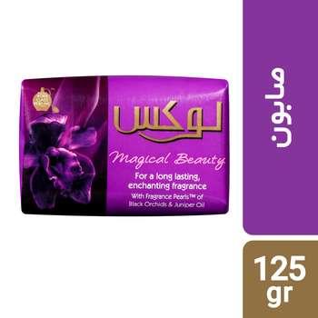 صابون لوکس مدل Magic Beauty مقدار 125 گرم بسته 6 عددی