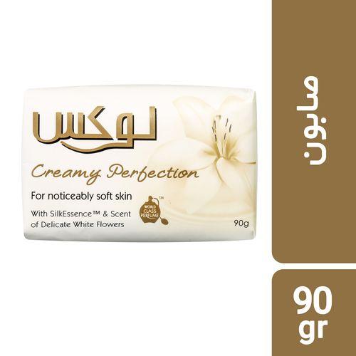 صابون لوکس مدل Creamy Perfection مقدار 90 گرم بسته 6 عددی