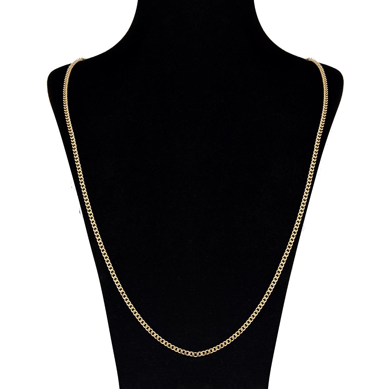 زنجیر طلا 18 عیار گوی گالری مدل G63