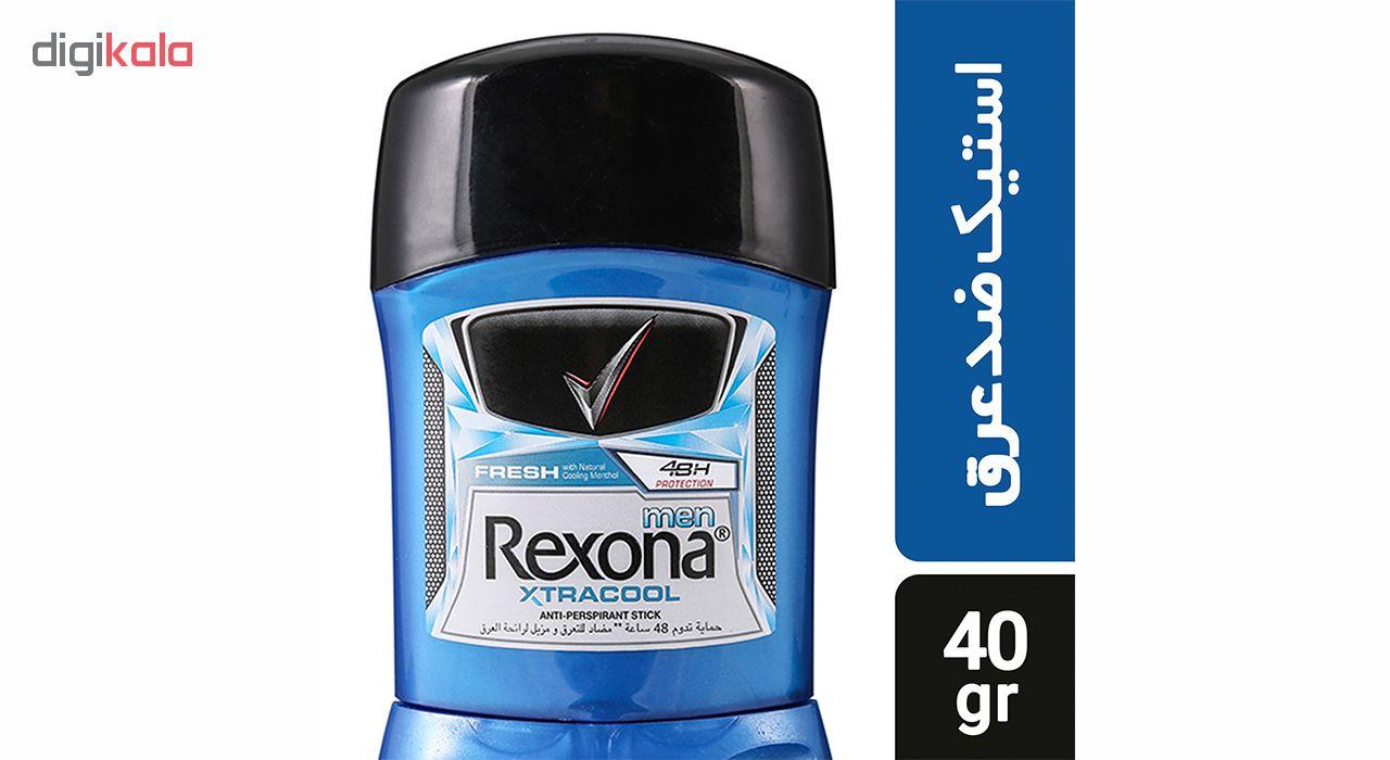 استیک ضد تعریق مردانه رکسونا مدل Xtra Cool حجم 40 گرم main 1 1