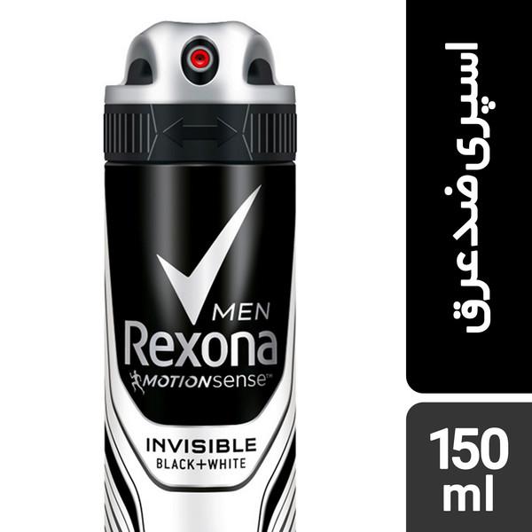 اسپری ضد تعریق مردانه رکسونا مدل Invisible حجم 150 میلی لیتر