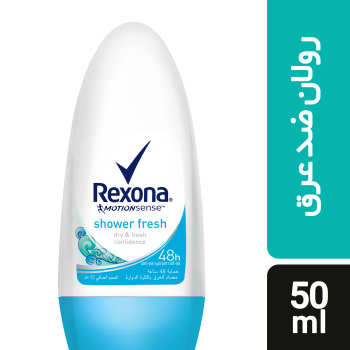 رول ضد تعریق زنانه رکسونا مدل Shower Fresh حجم 50 میلی لیتر