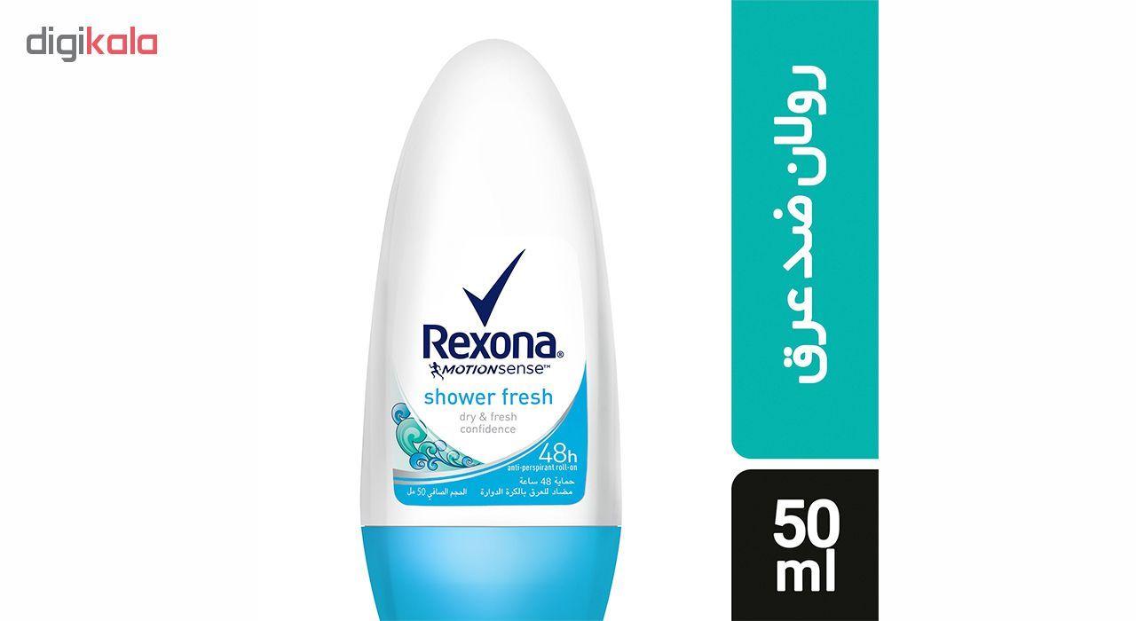 رول ضد تعریق زنانه رکسونا مدل Shower Fresh حجم 50 میلی لیتر main 1 1