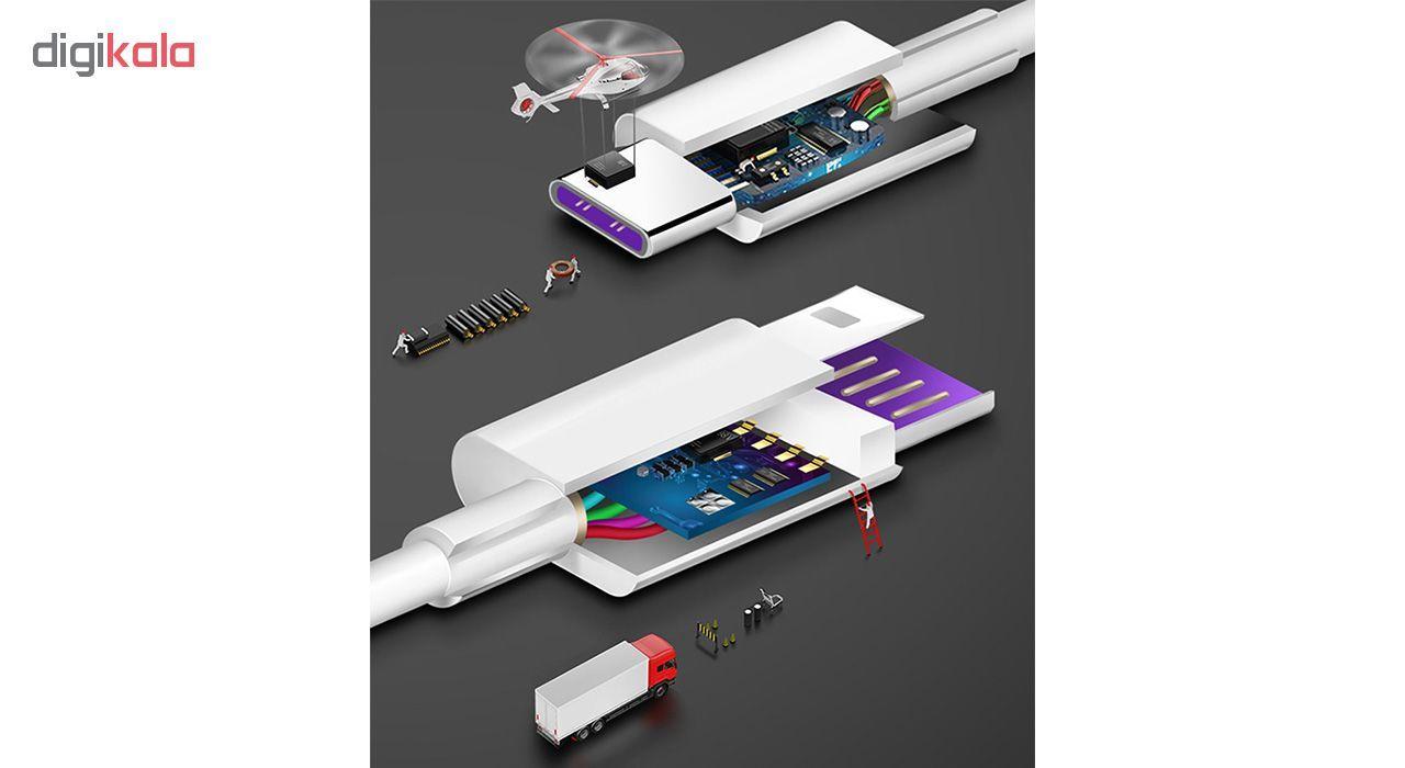 کابل تبدیل USB به USB-C مدل HL1289 طول 1 متر main 1 8