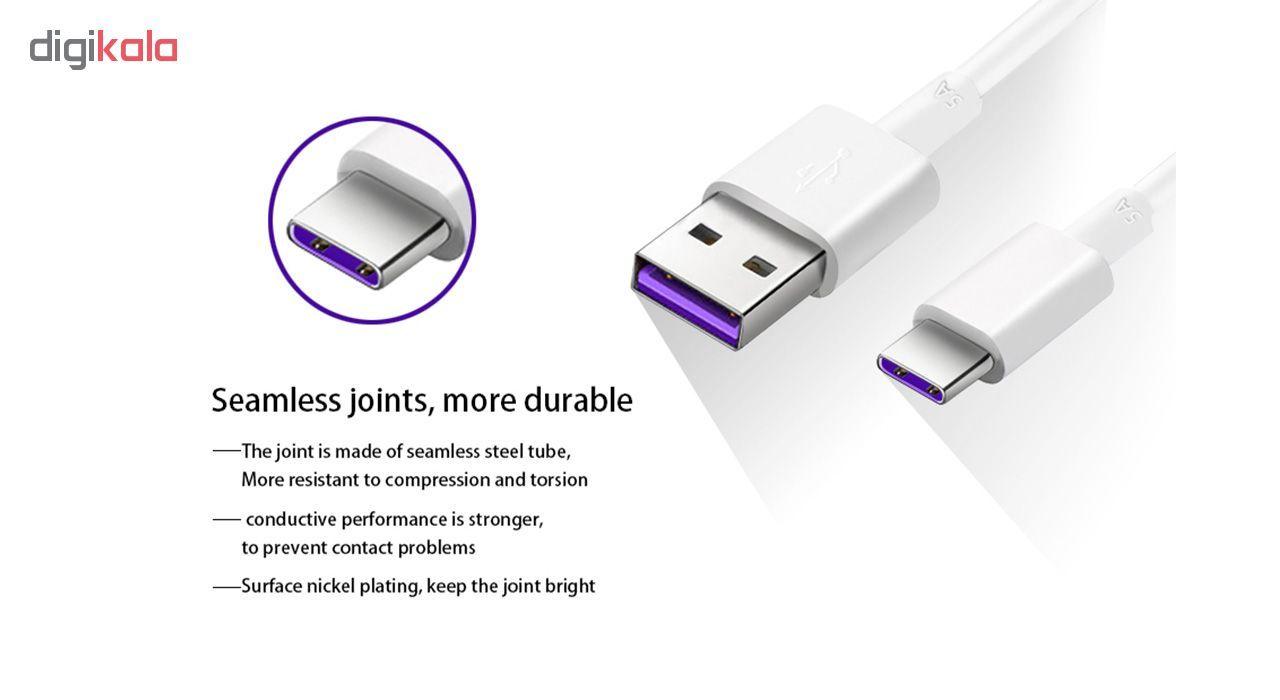 کابل تبدیل USB به USB-C مدل HL1289 طول 1 متر main 1 7