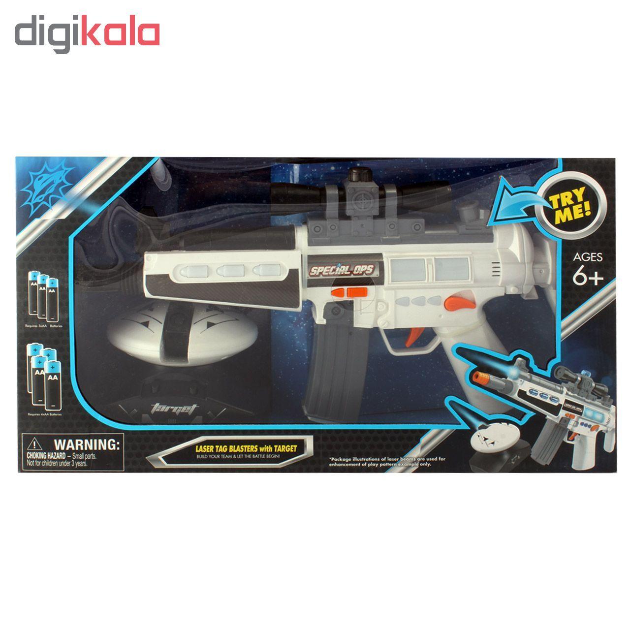 تفنگ مسلسل لیزر تگ بلستر کد 05A-393 main 1 3