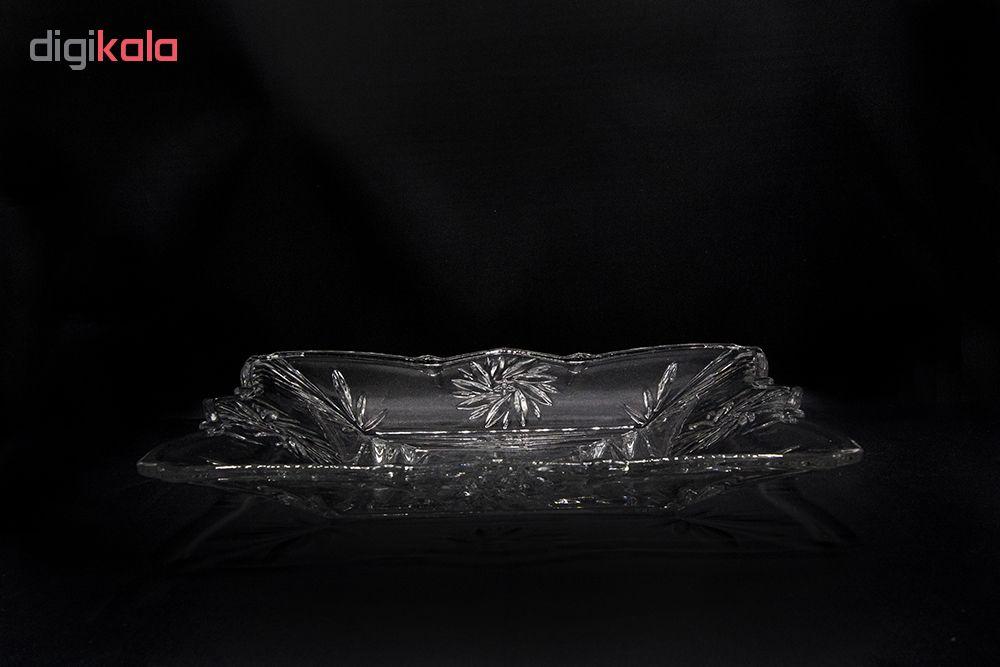شیرینی خوری بلور کاوه مدل تندیس 1053