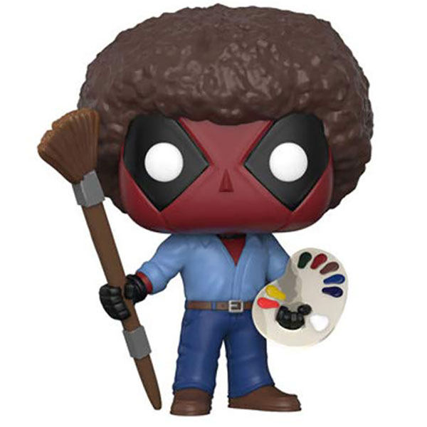 فیگور مدل Deadpool As Bob Ross