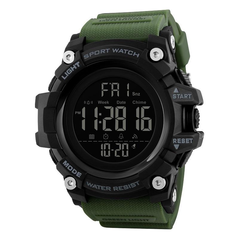 ساعت مچی دیجیتالی مردانه اسکمی مدل S1384 رنگ سبز             قیمت