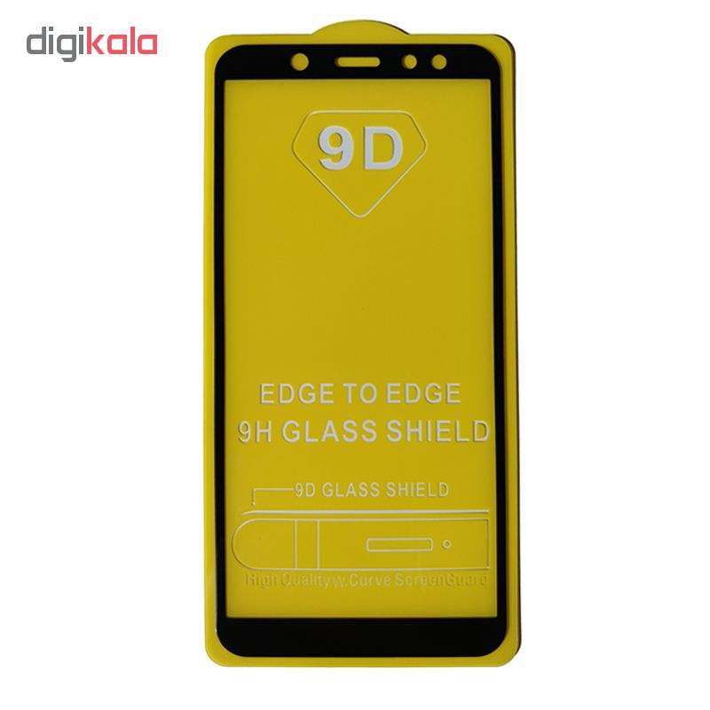 محافظ صفحه نمایش مدل 9D مناسب برای گوشی موبایل سامسونگ A6 2018 main 1 1