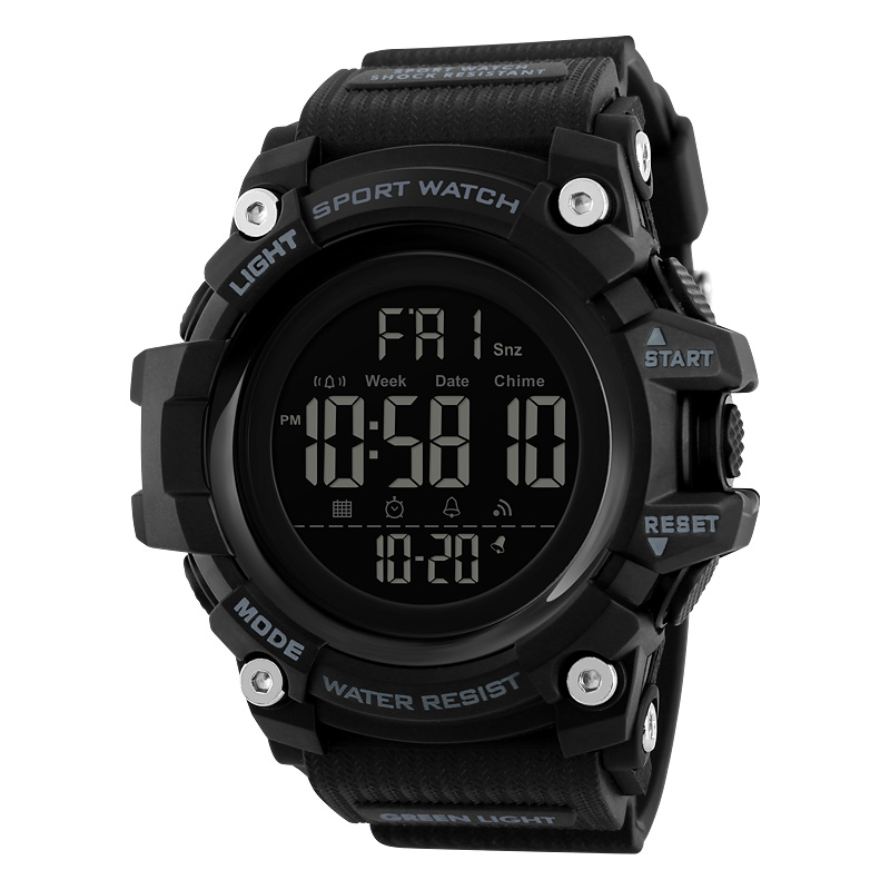 ساعت مچی دیجیتالی مردانه اسکمی مدل S1384 رنگ مشکی