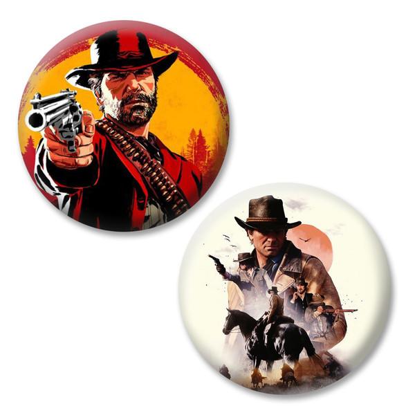 پیکسل مدل Red Dead Redemption2-101 مجموعه 2 عددی