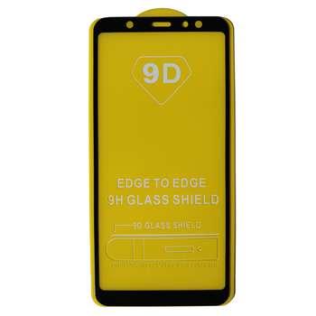 محافظ صفحه نمایش مدل 9D مناسب برای گوشی موبایل سامسونگ A6+ 2018