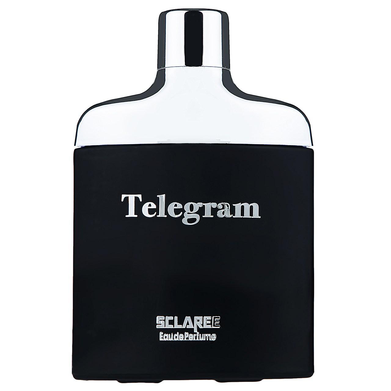 ادوپرفیوم مردانه اسکلاره مدل Telegram حجم 85 میلی لیتر
