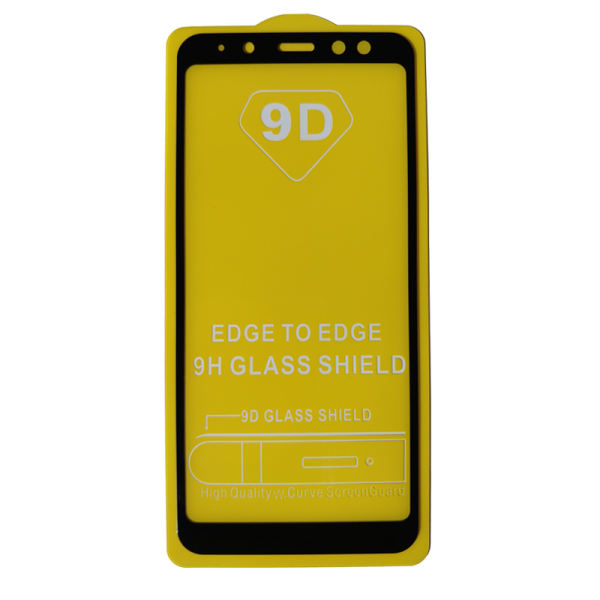 محافظ صفحه نمایش مدل 9D مناسب برای گوشی موبایل سامسونگ A8 2018