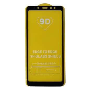 محافظ صفحه نمایش مدل 9D مناسب برای گوشی موبایل سامسونگ A8+ 2018