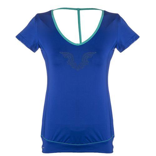 تی شرت ورزشی زنانه بیلسی مدل 15Y7213-PL-DARK BLUE