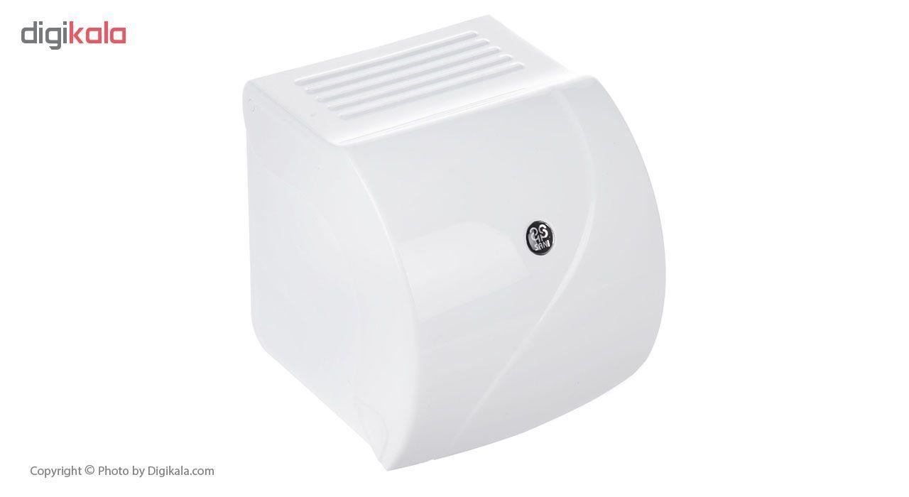جای دستمال توالت سنی پلاستیک مدل Madis 4407 main 1 1