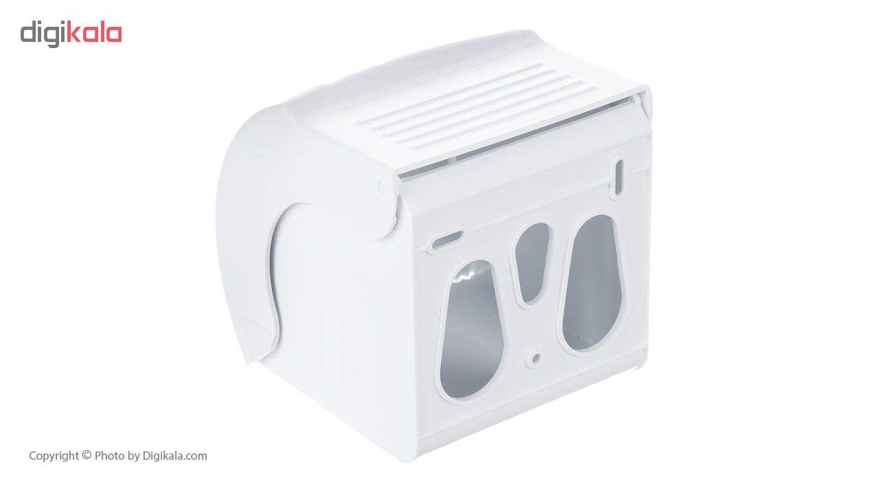 جای دستمال توالت سنی پلاستیک مدل Madis 4407 main 1 2